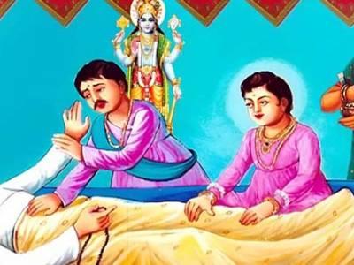 Dharmadev Renunciation Of His Body