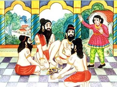 Gambling Sadhus